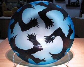 Blue Raven Platter