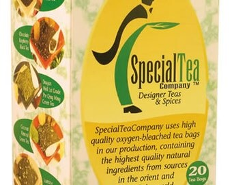 Tanzanian Silver Needle Organic Tea Bags Bonus Free Samples