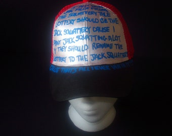 "Replica Early Cuyler Squidbillies ""Jak Squattery"" Hat"