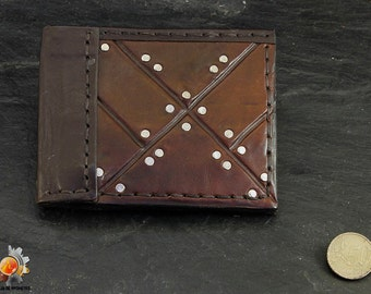 Stark wallet, wallet Game of Thrones, leather wallet, medieval wallet, purse Stark, GOT wallet, billfold GOT, fantasy wallet, pocketbook GOT