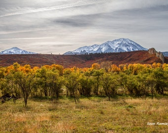Silver Afternoon, Rocky Mountain Photography, Colorado Mountains, Colorado Art, Photography Autumn, Snow, Landscape Photography, Fall Art
