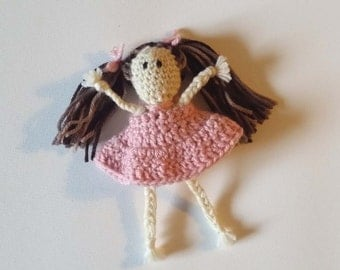 Crocheted Molly Dolly Pattern