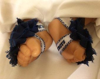 Dallas Cowboys Barefoot Sandals