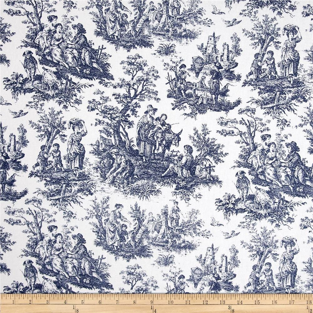 French Country Fabrics Part - 22: French Toile Fabric, French Country Home. ?zoom U2026