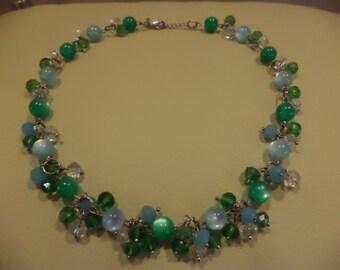 "Necklace ""Summer Evening"""