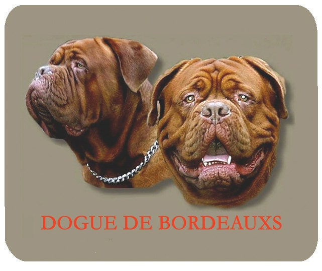 Dogue de Bordeauxs Mouse Mat Mouse Pad