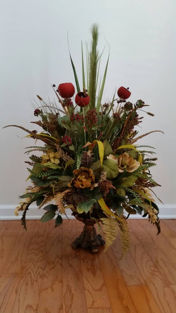 Large Arrangement For Foyer : Extra large elegant transitional by designtwentyninesc on etsy