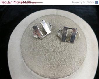 Vintage Sterling Silver WW II Bar Pins
