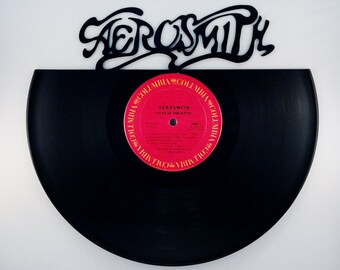 Recycled Vinyl Record AEROSMITH Wall Art