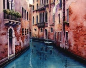 """Art Print of Venice Canal 