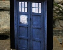 """Universal 7"""" inch Tablet Case - Dr Who Tardis Police Call Box"""