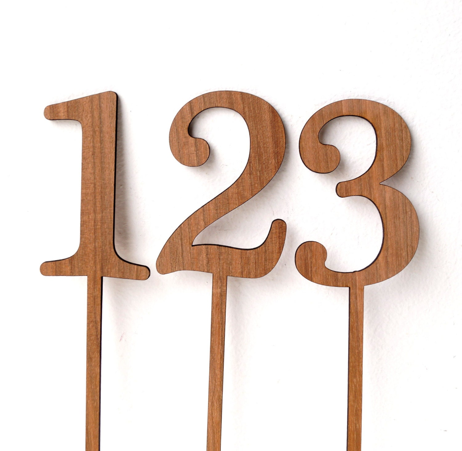 Wedding table number wooden table numbers rustic table for Table numbers