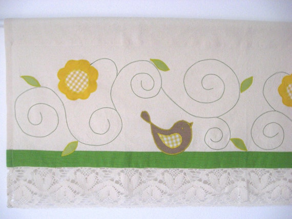 ... Curtain Cottage Romantic Lace Kids Room Baby Nursery Bohemian Chic