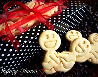 Valentines day gift for him - Kama Sutra cookie set