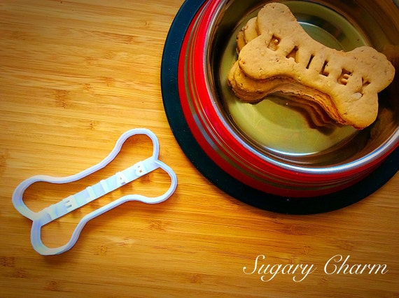 Personalized bone cookie cutters (NAME your COOKIE)