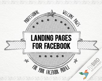 Welcome Page for Facebook - Static landing pages with fan-gates