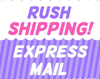 EXPRESS Mail Shipping Service Upgrade