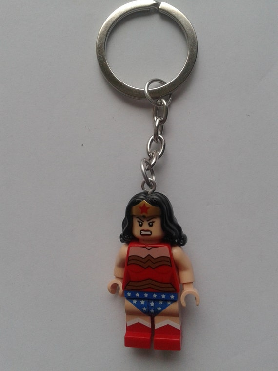 Super hero Wonder Woman keychain keyring made by ...