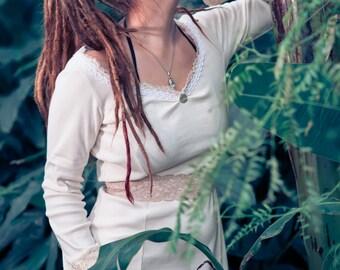 dreamy cotton knit dress
