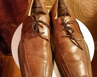 Vintage leather Stacey Adams oxford mens shoes, 12M (Reduced from 45.00).
