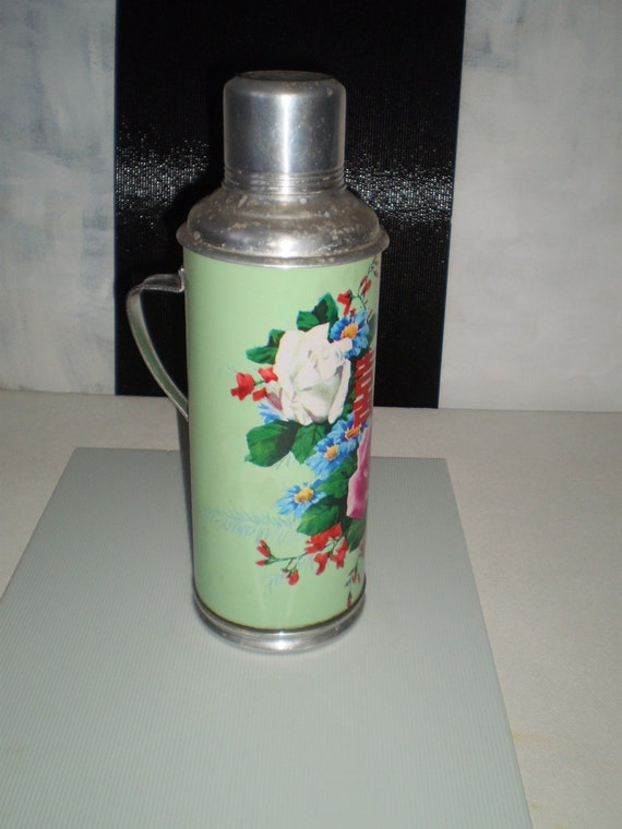 Antique Aluminium Thermos Shanghai Tea Thermos Cup China