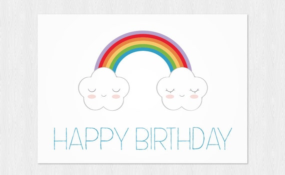 Items similar to Funny Happy Birthday Card DIY - Greeting ...