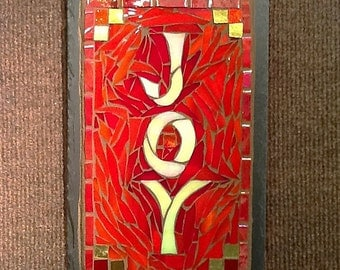 MADE TO ORDER Colorful Joy Sign