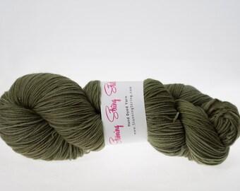 Green Tea- Luxury Fingering Weight - Merino, Cashmere & Nylon - 100 g - 425 yds