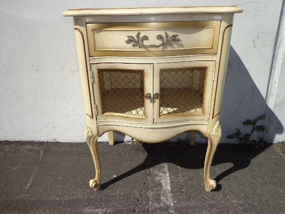 French provincial night stand neoclassical nightstand storage for French nightstand bedside table