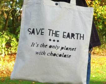 Tote Bag Earth