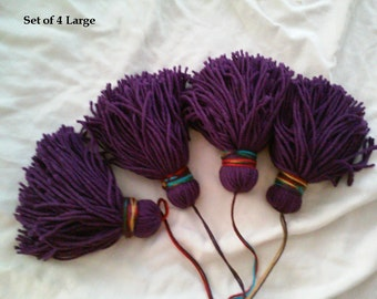 Custom Made Yarn Tassels