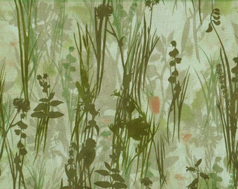 Celadon Foliage 100% Cotton Fabric Sold by Half Yard (21307)