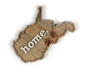 West Virginia home. Rough Cut Mill Wood Wall Hanging