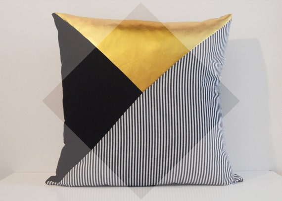 MAN pillows - Art Deco inspired