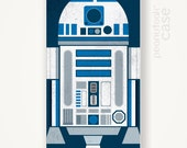 Star Wars R2D2 phone case Minimalist illustration star wars movie iPhone case hard plastic case r2d2 phone case star wars phone case movie