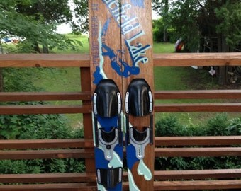 Personalized Water Skis