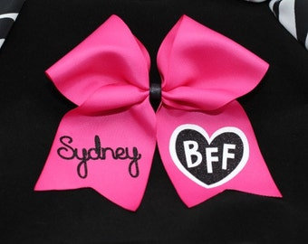 PERSONALIZED BFF Cheer Bow