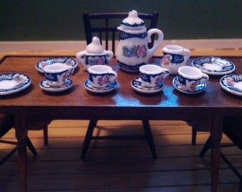 Dollhouse Miniature 1:12 Scale Tea Set