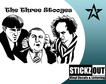 Three Stooges Decor Etsy