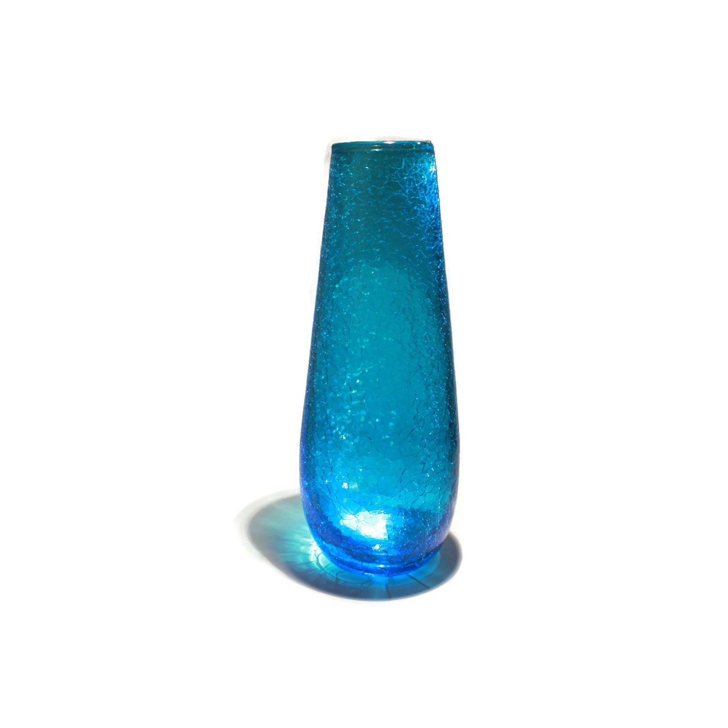 Retro Art Glass Glass Vase Retro Art