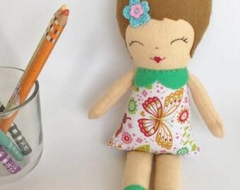 Little Miss Camila (Rag Doll) based on Gingermelon pattern