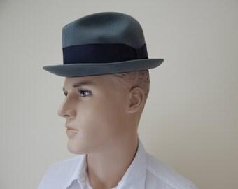 Vintage Dobbs fedora hat
