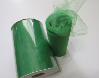 Emerald Green Tulle Fabric 100 Yards