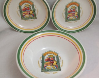 Portofino Italian Pasta Bowls, Pasta for Two, Serving bowl and two bowls