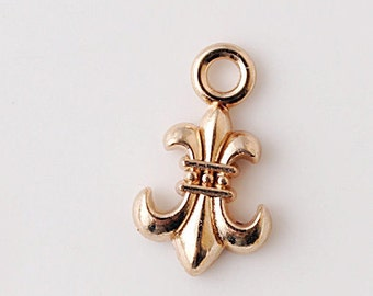 20 pcs of antique gold   anchor charm pendants