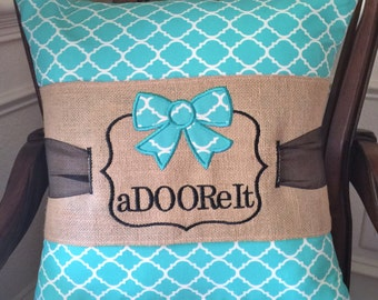 Wrap Your Home in Style with an Appliqued Pillow!
