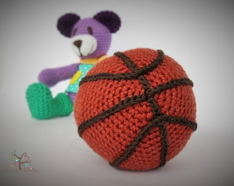 Crochet Ball pattern, Sound making Ball, Amigurumi toy, crochet toy