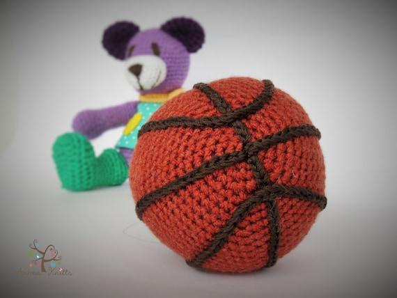 Amigurumi Ball Crochet Pattern : Crochet Ball pattern Sound making Ball Amigurumi toy