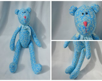 Bear Tilda Style Stuffed Animal Great For Kids