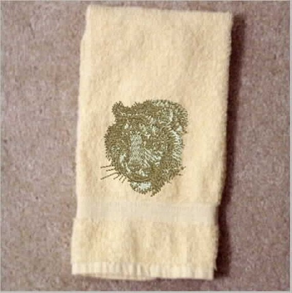 Embroidered Terry Cloth Hand Towels: Kitchen Towel Towels Hand Towel Embroidered By